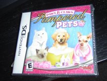 New Paw & Claws Pampered Pets DS game in Fort Riley, Kansas