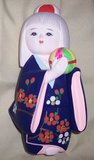 Japanese Ceramic Doll in Las Cruces, New Mexico
