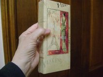 """Sealed """"Paris"""" Notepad Book Plus Pencil - Great All-Occasion Gift in Houston, Texas"""