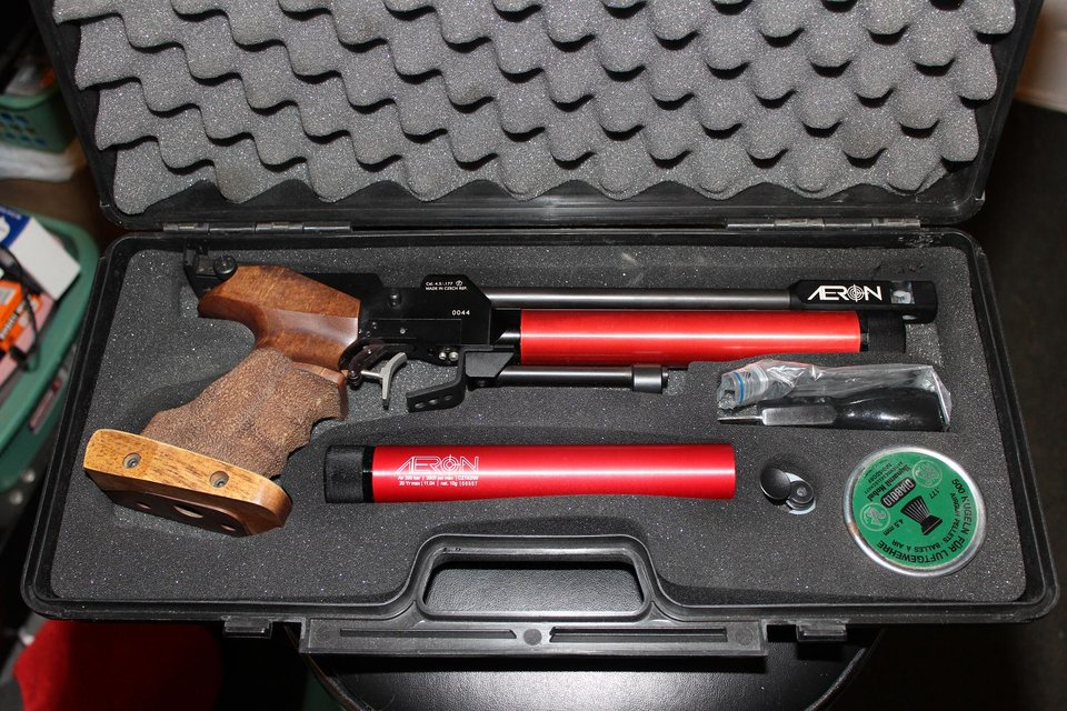 10m Match air pistol, Reduced   Hobby for sale on Lejeune ...